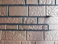 マーブルならではのオリジナルレンガ調塗装