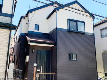 草加市 K様邸 外壁・屋根塗装事例