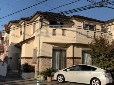 越谷市 I様邸 外壁・屋根塗装事例