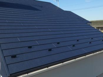 屋根の葺き替え、カバー工法「スーパーガルテクト」
