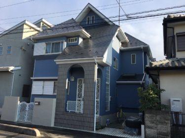 越谷市Y様邸 屋根・外壁塗装工事
