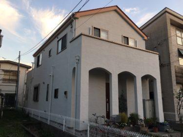 越谷市S様邸 屋根・外壁塗装工事