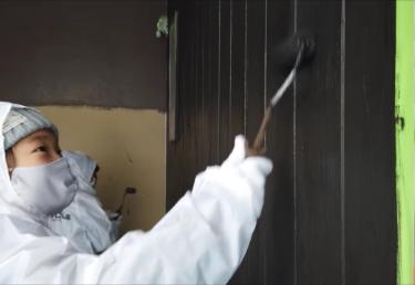 「じぶんち塗っちゃおう!」ワクワク♫チビッ子塗装体験♡