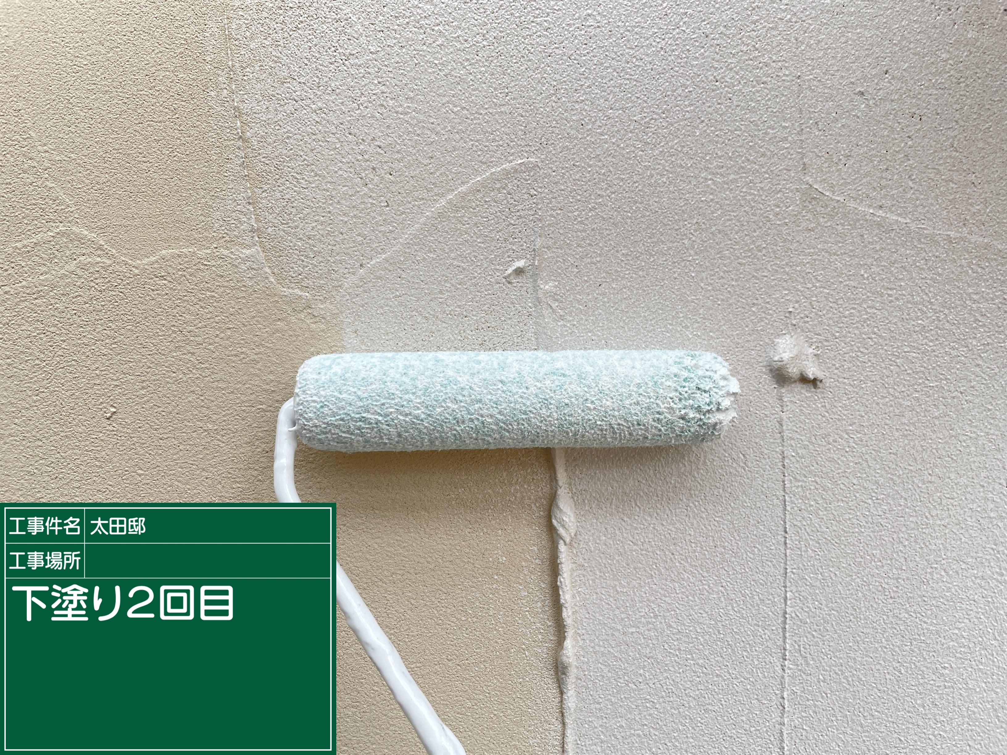 ジョリパットの塗り替えは下塗りが命!【外壁塗装 越谷 埼玉】